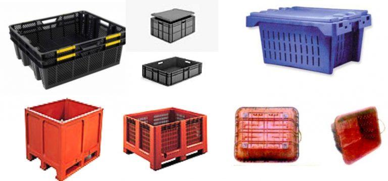 Caixas de transporte e cultivo