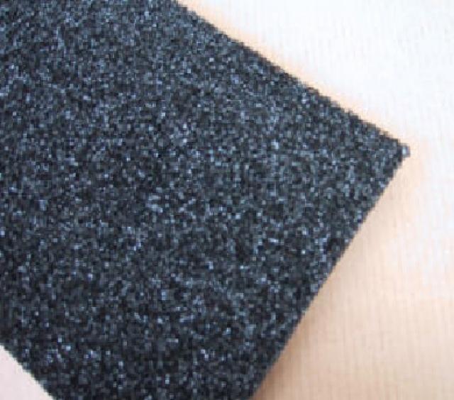 Escuma de carbón activado