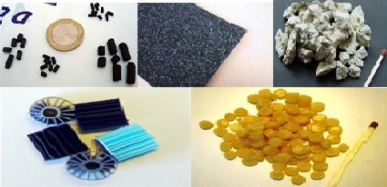 Material de Filtración de Aguas
