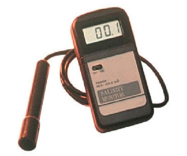 Monitor digital de salinidade