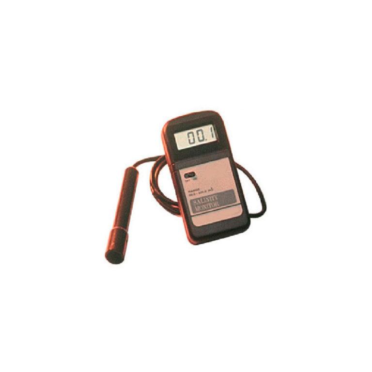 Monitor digital de salinidad