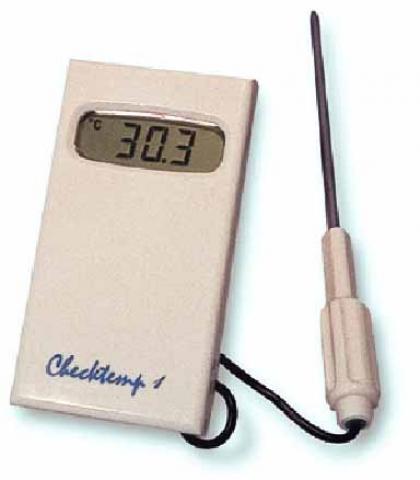Termómetro dixital con sonda de agulla