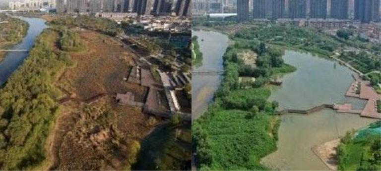 Dragado medioambiental con Watermaster en Xi'an